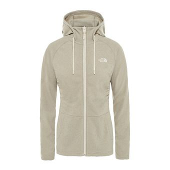 The North Face MEZZALUNA - Fleece - Women's - silt grey stripe