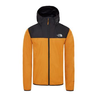 The North Face CYCLONE 2 - Jacket - Men's - citrine yellow/tnf black