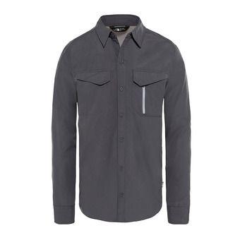 The North Face SEQUOIA - Camicia Uomo asphalt grey/mid grey