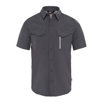 Chemise MC homme SEQUOIA asphalt grey/mid grey