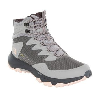 The North Face ULTRA FASTPACK III GTX - Hiking Shoes - Women's - meld grey/pink salt