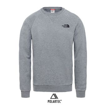 The North Face SIMPLE DOME - Sudadera hombre tnf medium grey heather