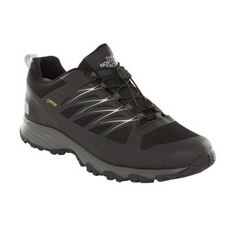 The North Face VENTURE FASTLACE GTX - Chaussures randonnée Homme tnf black/metallic silver