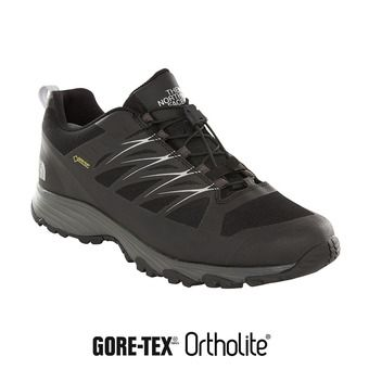 The North Face VENTURE FASTLACE GTX - Zapatillas de senderismo hombre tnf black/metallic silver