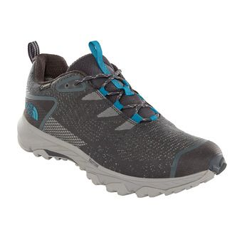 The North Face ULTRA FASTPACK III GTX - Chaussures randonnée Homme ebony grey/crystal teal