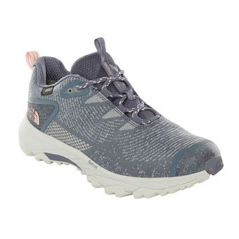 The North Face ULTRA FASTPACK III GTX - Zapatillas de senderismo mujer grisaille grey/pink salt