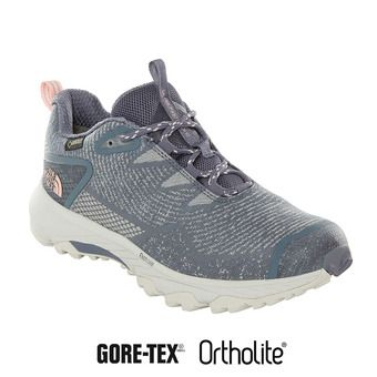 The North Face ULTRA FASTPACK III GTX - Zapatillas de senderismo mujer grisaille grey/pink salt