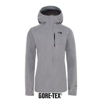 The North Face DRYZZLE GTX - Chaqueta mujer tnf medium grey heather