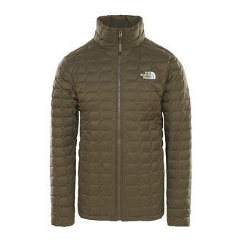 The North Face THERMOBALL - Down Jacket - Men's - new taupe green matte