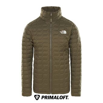 The North Face THERMOBALL - Anorak hombre new taupe green matte