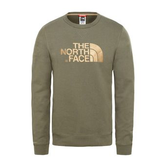 Sweat homme DREW PEAK LHT new taupe green