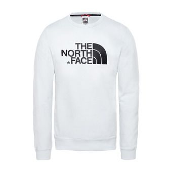 The North Face DREW PEAK LHT - Sweat Homme tnf white