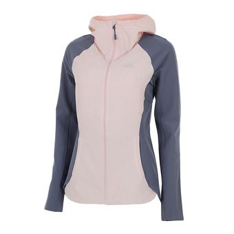 The North Face INVENE - Chaqueta mujer pink salt/grisaille grey