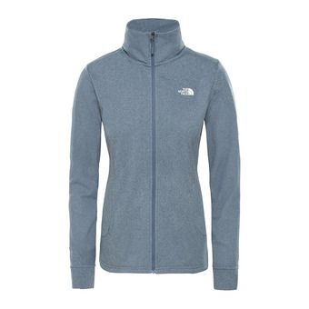 The North Face QUEST - Sweatshirt - Women's - grisaille grey white hthr