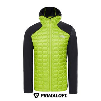 The North Face THERMOBALL - Chaqueta híbrida hombre lime green/tnf black