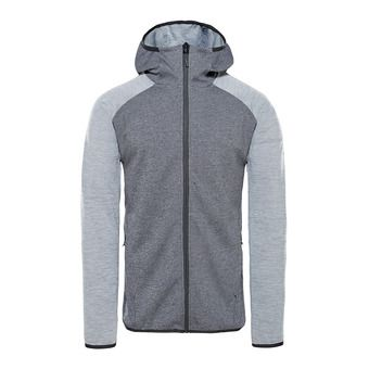The North Face ONDRAS II - Sweat Homme black heather/mid grey heather