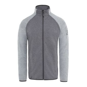 The North Face ONDRAS II - Sweatshirt - Men's - tnfblackhther/midgryhther
