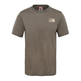 The North Face GRAPHIC - Tee-shirt Homme new taupe green