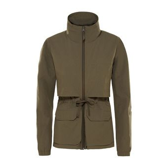 Chaqueta mujer SIGHTSEER new taupe green