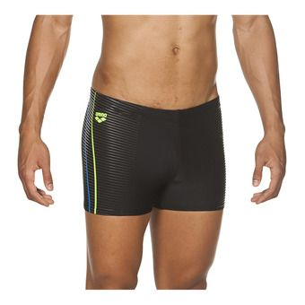Boxer de bain homme ROY black/shiny green