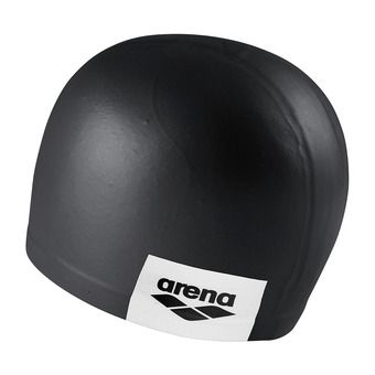 Bonnet de bain LOGO MOULDED black