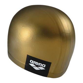 Arena LOGO MOULDED - Bonnet de bain gold