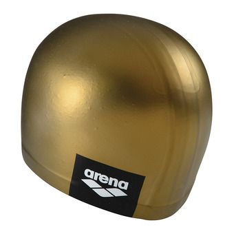 Arena LOGO MOULDED - Swimming Cap - gold