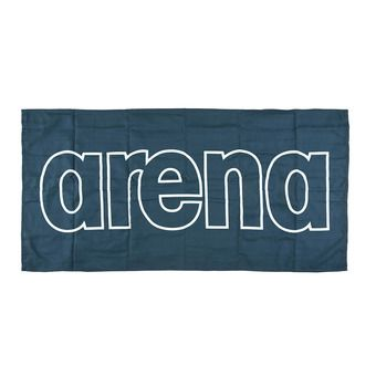 Arena GYM SMART - Towel - navy/white