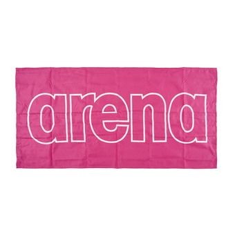 Arena GYM SMART - Towel - fresia pink/white