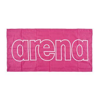 Serviette de bain GYM SMART fresia pink/white