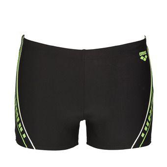 Bañador tipo bóxer hombre SONAR black/shiny green
