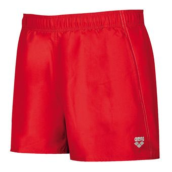Arena FUNDAMENTALS X-SHORT - Swimming Shorts - Men's - red/white
