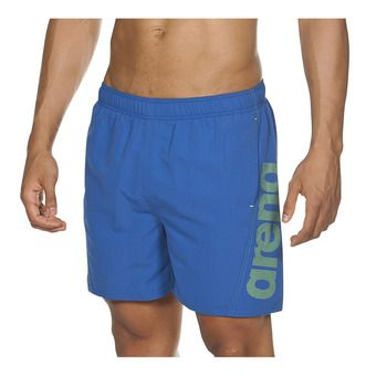 Arena FUNDAMENTALS ARENA LOGO - Swimming Shorts - Men's - royal/leaf