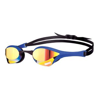 Arena COBRA ULTRA MIRROR - Lunettes de natation yellow revo/blue
