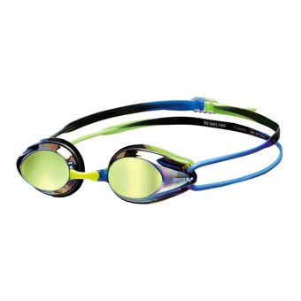 Arena TRACKS MIRROR - Swimming Goggles - blue/blue/green
