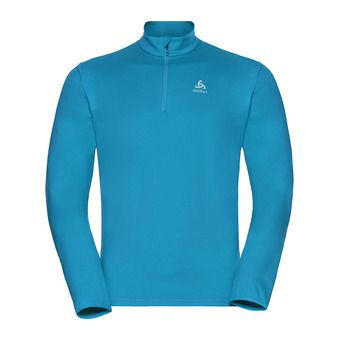 Sweat 1/2 zippé homme ALAGNA blue jewel