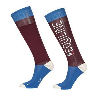 Equiline CRIME - Chaussettes aubergine