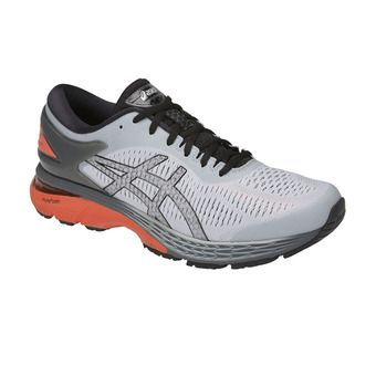 Asics GEL-KAYANO 25 - Chaussures running Homme mid grey/red snapper