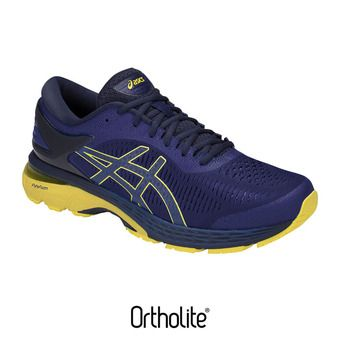 Asics GEL-KAYANO 25 - Chaussures running Homme asics blue/lemon spark