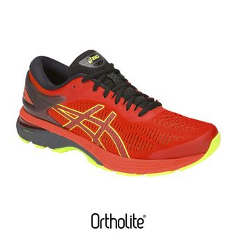 Asics GEL-KAYANO 25 - Zapatillas de running hombre cherry tomato/flash yellow