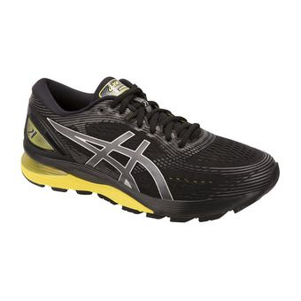 Asics GEL-NIMBUS 21 - Running Shoes - Men's - black/lemon spark