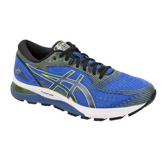 Asics GEL-NIMBUS 21 - Running Shoes - Men's - illusion blue/black