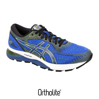 Asics GEL-NIMBUS 21 - Chaussures running Homme illusion blue/black