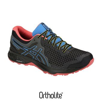 Asics GEL-SONOMA 4 - Trail Shoes - Men's - black/island blue