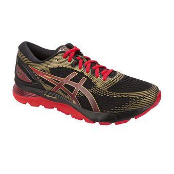 Asics GEL-NIMBUS 21 MUGEN - Chaussures running Homme black/classic red
