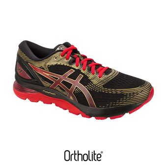 Zapatillas de running hombre GEL-NIMBUS 21 MUGEN black/classic red