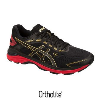Asics GT-2000 7 MUGEN - Chaussures running Homme black/rich gold