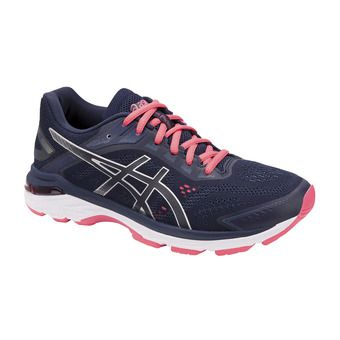 Asics GT-2000 7 - Chaussures running Femme peacoat/silver