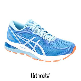 Asics GEL-NIMBUS 21 - Scarpe da running Donna blue coast/skylight