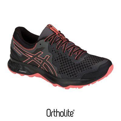 Asics GEL SONOMA 4 Zapatillas de trail mujer blackpapaya